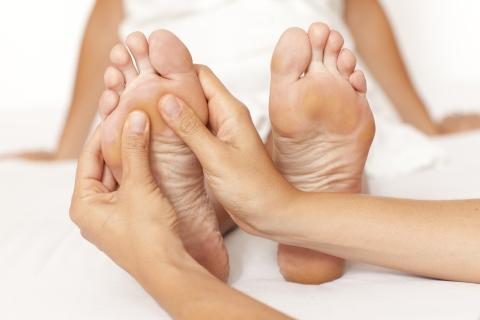 Fußreflexzonenmassage lernen und Reflexzonentabelle verstehen - WIP